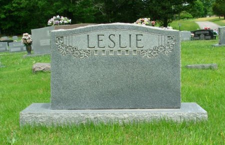 LESLIE, FAMILY STONE - Benton County, Tennessee | FAMILY STONE LESLIE - Tennessee Gravestone Photos