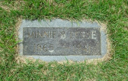LESLIE, MINNIE BELL - Benton County, Tennessee | MINNIE BELL LESLIE - Tennessee Gravestone Photos