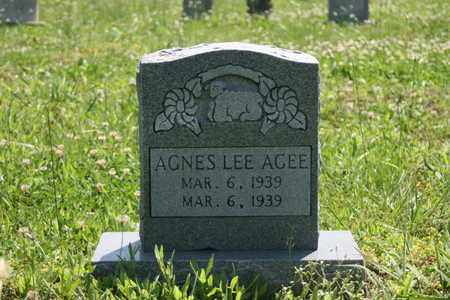 AGEE, AGNESS LEE - Bledsoe County, Tennessee | AGNESS LEE AGEE - Tennessee Gravestone Photos