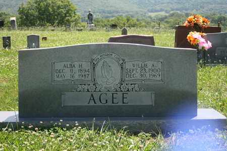 AGEE, WILLIE - Bledsoe County, Tennessee | WILLIE AGEE - Tennessee Gravestone Photos