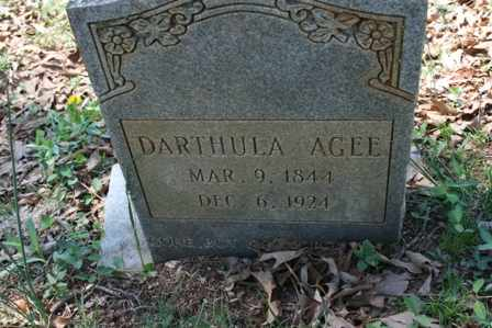 AGEE, DARTHULA - Bledsoe County, Tennessee | DARTHULA AGEE - Tennessee Gravestone Photos