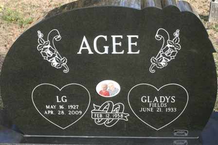AGEE, GLADYS FIELDS - Bledsoe County, Tennessee | GLADYS FIELDS AGEE - Tennessee Gravestone Photos