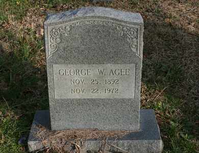 AGEE, GEORGE W. - Bledsoe County, Tennessee | GEORGE W. AGEE - Tennessee Gravestone Photos