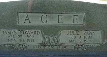 AGEE, JAMES EDWARD - Bledsoe County, Tennessee | JAMES EDWARD AGEE - Tennessee Gravestone Photos
