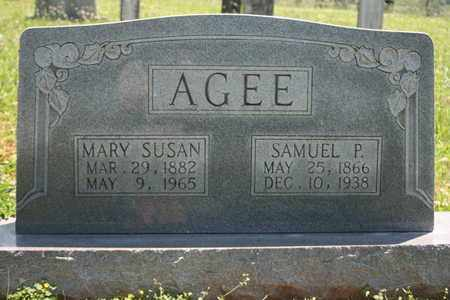 AGEE, MARY SUSAN - Bledsoe County, Tennessee | MARY SUSAN AGEE - Tennessee Gravestone Photos