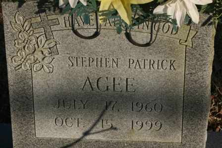 AGEE, STEPHEN PATRICK - Bledsoe County, Tennessee | STEPHEN PATRICK AGEE - Tennessee Gravestone Photos