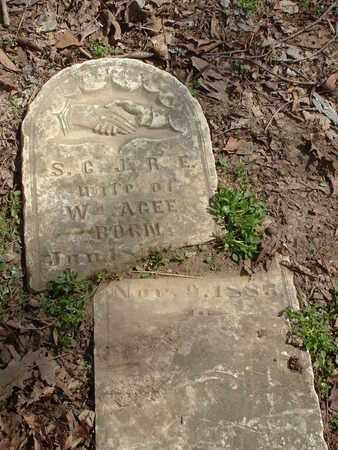 AGEE, S.C. - Bledsoe County, Tennessee | S.C. AGEE - Tennessee Gravestone Photos