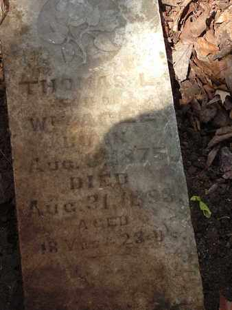 AGEE, THOMAS L. - Bledsoe County, Tennessee | THOMAS L. AGEE - Tennessee Gravestone Photos