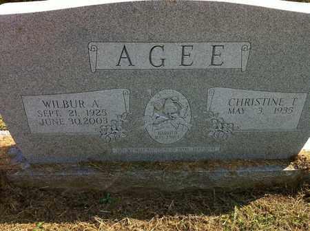 AGEE, WILBUR A. - Bledsoe County, Tennessee   WILBUR A. AGEE - Tennessee Gravestone Photos