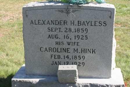 BAYLESS, CAROLINE M. - Bledsoe County, Tennessee   CAROLINE M. BAYLESS - Tennessee Gravestone Photos