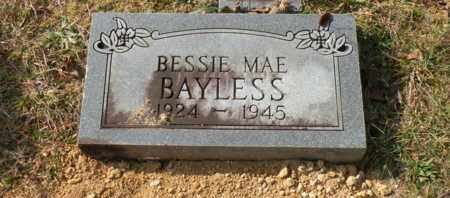 BAYLESS, BESSIE MAE - Bledsoe County, Tennessee   BESSIE MAE BAYLESS - Tennessee Gravestone Photos