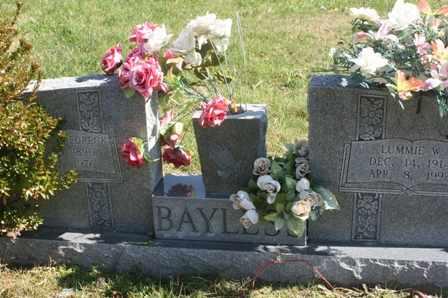 BAYLESS, LUMMIE WILENE - Bledsoe County, Tennessee | LUMMIE WILENE BAYLESS - Tennessee Gravestone Photos