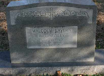 BILLINGSLEY, MALCOM LAVERN - Bledsoe County, Tennessee | MALCOM LAVERN BILLINGSLEY - Tennessee Gravestone Photos