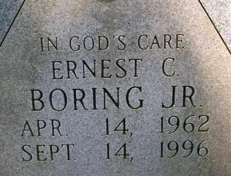 BORING, ERNEST C.  JR. - Bledsoe County, Tennessee   ERNEST C.  JR. BORING - Tennessee Gravestone Photos