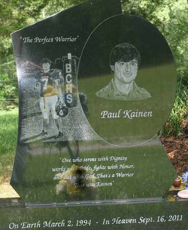 BORING, PAUL KAINEN - Bledsoe County, Tennessee | PAUL KAINEN BORING - Tennessee Gravestone Photos