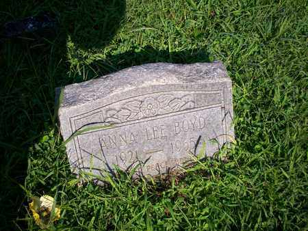 BOYD, ANNA LEE - Bledsoe County, Tennessee   ANNA LEE BOYD - Tennessee Gravestone Photos