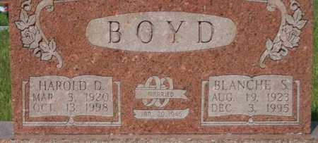 BOYD, HAROLD - Bledsoe County, Tennessee | HAROLD BOYD - Tennessee Gravestone Photos