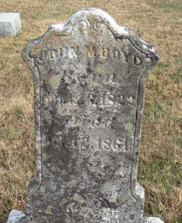 BOYD, JOHN M. - Bledsoe County, Tennessee | JOHN M. BOYD - Tennessee Gravestone Photos
