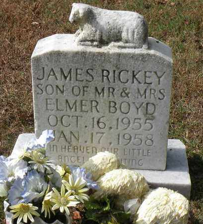 BOYD, JAMES RICKY - Bledsoe County, Tennessee   JAMES RICKY BOYD - Tennessee Gravestone Photos