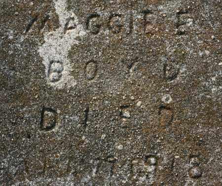 BOYD, MAGGIE ELLEN - Bledsoe County, Tennessee | MAGGIE ELLEN BOYD - Tennessee Gravestone Photos