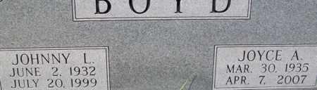 BOYD, JOYCE A. - Bledsoe County, Tennessee   JOYCE A. BOYD - Tennessee Gravestone Photos