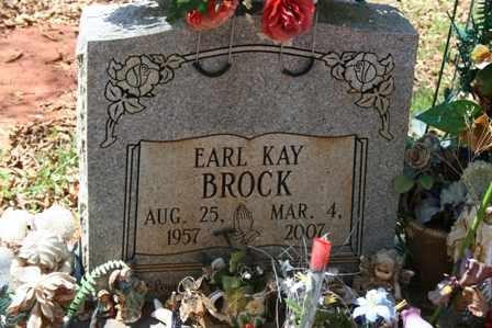 BROCK, EARL KAY - Bledsoe County, Tennessee | EARL KAY BROCK - Tennessee Gravestone Photos