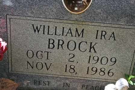 BROCK, WILLIAM - Bledsoe County, Tennessee | WILLIAM BROCK - Tennessee Gravestone Photos