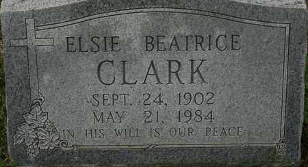 CLARK, ELSIE BEATRICE - Bledsoe County, Tennessee | ELSIE BEATRICE CLARK - Tennessee Gravestone Photos