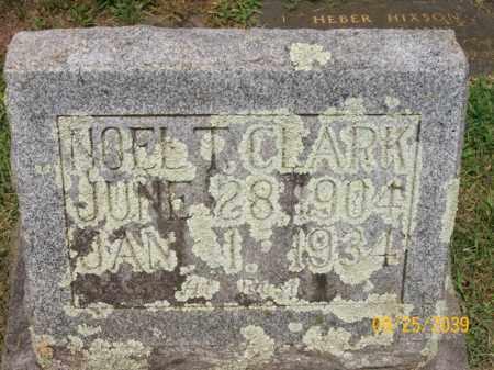 CLARK, NOEL T. - Bledsoe County, Tennessee | NOEL T. CLARK - Tennessee Gravestone Photos