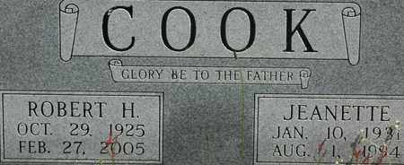 COOK, ROBERT H. - Bledsoe County, Tennessee | ROBERT H. COOK - Tennessee Gravestone Photos