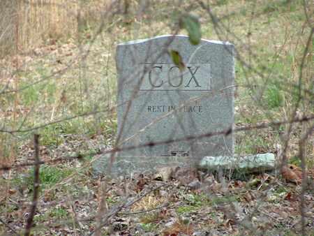 COX, VERNER GOSSET - Bledsoe County, Tennessee | VERNER GOSSET COX - Tennessee Gravestone Photos