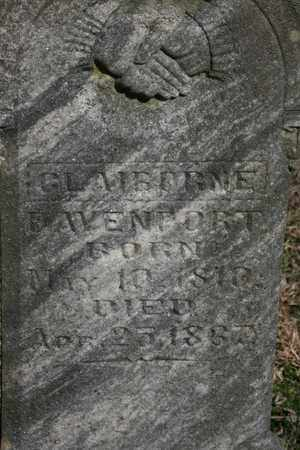 DAVENPORT, CLAIBONE - Bledsoe County, Tennessee | CLAIBONE DAVENPORT - Tennessee Gravestone Photos
