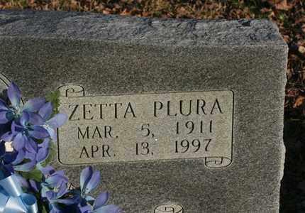 DAVENPORT, ZETTA PLURA - Bledsoe County, Tennessee   ZETTA PLURA DAVENPORT - Tennessee Gravestone Photos