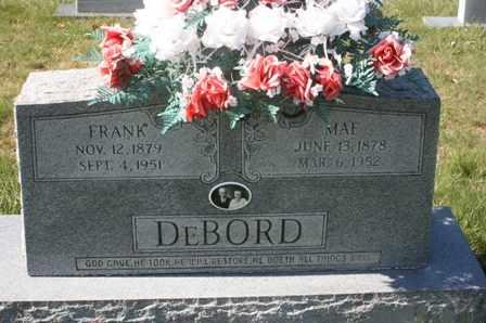 MYERS DEBORD, EDITH MAE - Bledsoe County, Tennessee   EDITH MAE MYERS DEBORD - Tennessee Gravestone Photos