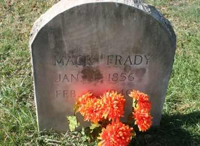 FRADY, GEORGE WASHINGTON MCDUFFY MACK - Bledsoe County, Tennessee | GEORGE WASHINGTON MCDUFFY MACK FRADY - Tennessee Gravestone Photos