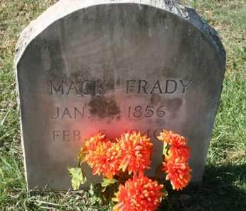 FRADY, MACK - Bledsoe County, Tennessee | MACK FRADY - Tennessee Gravestone Photos
