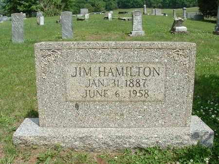 "HAMILTON, JAMES A. ""JIM"" - Bledsoe County, Tennessee | JAMES A. ""JIM"" HAMILTON - Tennessee Gravestone Photos"