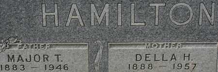 HAMILTON, MAJOR T. - Bledsoe County, Tennessee | MAJOR T. HAMILTON - Tennessee Gravestone Photos