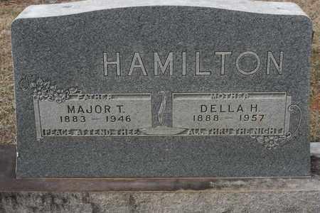 HAMILTON, DELLA - Bledsoe County, Tennessee   DELLA HAMILTON - Tennessee Gravestone Photos
