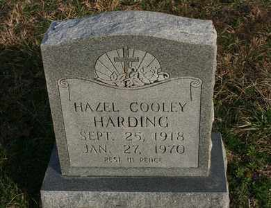 HARDING, HAZEL COOLEY - Bledsoe County, Tennessee | HAZEL COOLEY HARDING - Tennessee Gravestone Photos