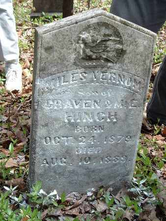 HINCH, MILES - Bledsoe County, Tennessee | MILES HINCH - Tennessee Gravestone Photos