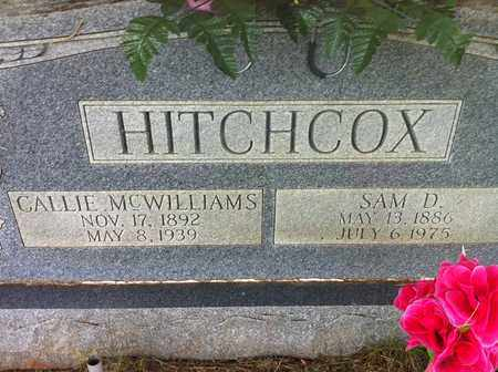 HITCHCOX, SAM D. - Bledsoe County, Tennessee | SAM D. HITCHCOX - Tennessee Gravestone Photos