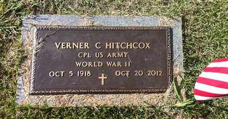 HITCHCOX (VETERAN WWII), VERNER C - Bledsoe County, Tennessee | VERNER C HITCHCOX (VETERAN WWII) - Tennessee Gravestone Photos
