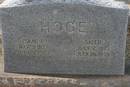 HOGE, SALLIE GREEN - Bledsoe County, Tennessee | SALLIE GREEN HOGE - Tennessee Gravestone Photos