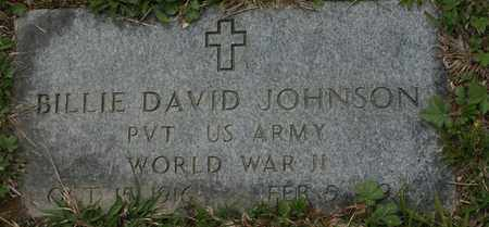 JOHNSON VETERAN, BILLIE DAVID - Bledsoe County, Tennessee | BILLIE DAVID JOHNSON VETERAN - Tennessee Gravestone Photos