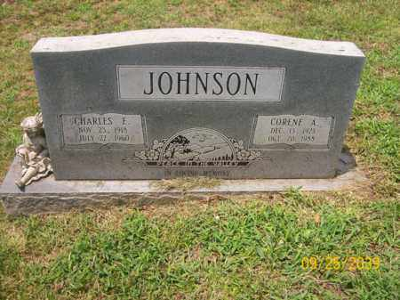 JOHNSON, CORENE A. - Bledsoe County, Tennessee | CORENE A. JOHNSON - Tennessee Gravestone Photos