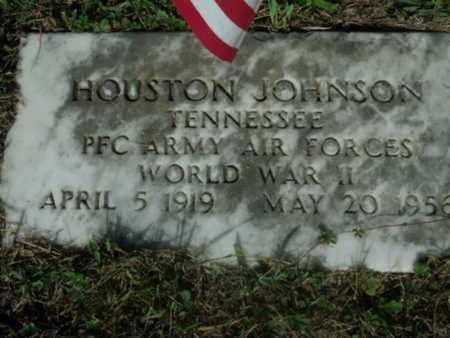JOHNSON VETERAN, HOUSTON - Bledsoe County, Tennessee | HOUSTON JOHNSON VETERAN - Tennessee Gravestone Photos