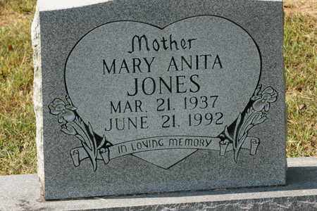 JONES, MARY ANITA - Bledsoe County, Tennessee | MARY ANITA JONES - Tennessee Gravestone Photos