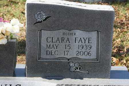 FAYE LEWIS, CLARA - Bledsoe County, Tennessee | CLARA FAYE LEWIS - Tennessee Gravestone Photos