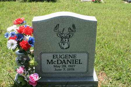 MCDANIEL, EUGENE - Bledsoe County, Tennessee | EUGENE MCDANIEL - Tennessee Gravestone Photos
